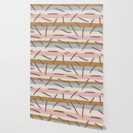 Retro Abstract Pattern Wallpaper