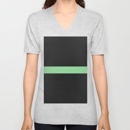 Simple Division - Matt Green On Urban Concrete Geometric Urban Pop Art Unisex V-Neck
