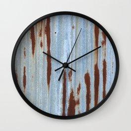 Northport Stripes (23blue) Wall Clock