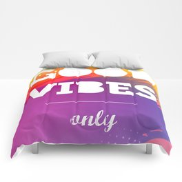 Good Vibes Only, watercolor poster, Thsirt, Phone case, Comforters