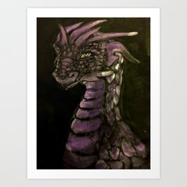 Of Scales and Shadows Art Print