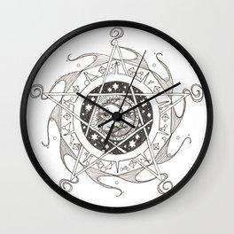 Moondala Wall Clock