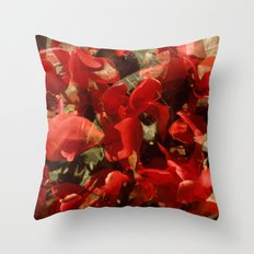 Alpenveilchenmix 1 Throw Pillow