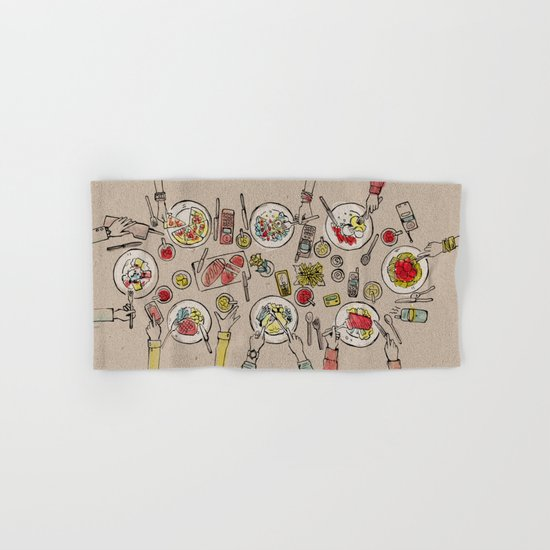 Generations Dinner Hand & Bath Towel