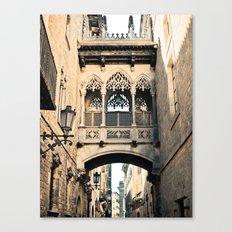 Old Barcelona Canvas Print