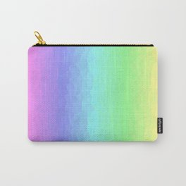 Vertical Pastels Carry-All Pouch