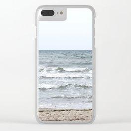 Beach Walk Clear iPhone Case