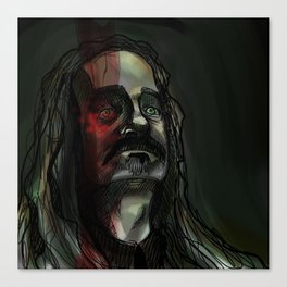 Portrait of a Worm Canvas Print