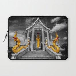 Pranburi Temple Thailand Laptop Sleeve