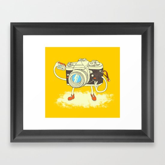 Self capture Framed Art Print