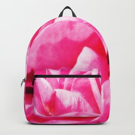 A Touch of love - Pink Rose #1 Backpack