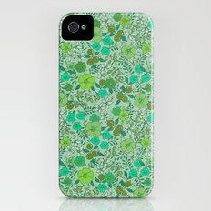 Floral2 iPhone (4, 4s) Slim Case