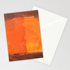 color abstract 6 Stationery Cards