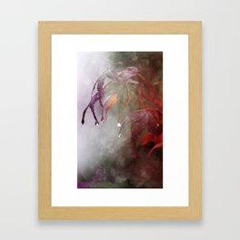 Autumn Rain Framed Art Print