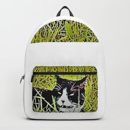 Cat by Mandy Groves Backpack