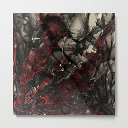 The Dance of Detached Humanism  Metal Print