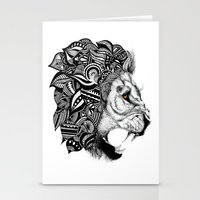 leon Stationery Cards featuring Leon by Artful Schemes