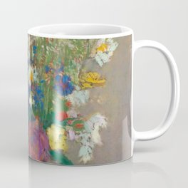 "Odilon Redon ""Vision - vase of flowers"" Coffee Mug"