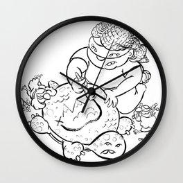Ninja Master of Planning Wall Clock