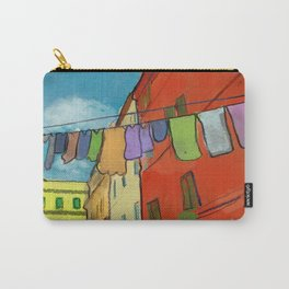 Laundry in Trastevere Carry-All Pouch