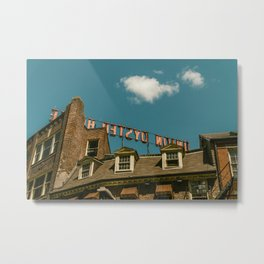 On the Rooftop Metal Print