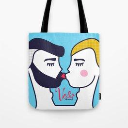 Kiss (One) Tote Bag