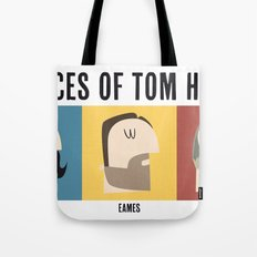 3 Faces of Tom Hardy Tote Bag