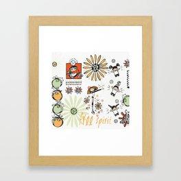 Free Spirit Volleyball Framed Art Print