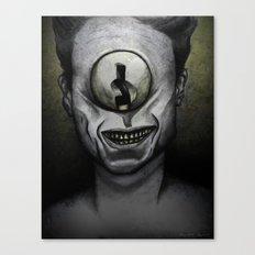 Keep it secret. Canvas Print