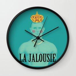 La jalousie Wall Clock