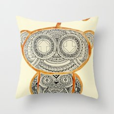 I'm very thankful for all the aliens I've met and loved Throw Pillow