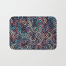Seamless Colorful Geometric Pattern XXII Bath Mat
