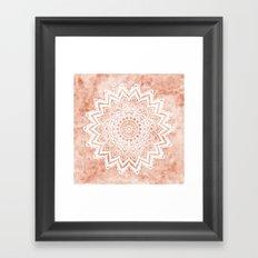 MANDALA SAVANAH Framed Art Print