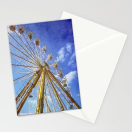 At the Funfair (3) Stationery Cards