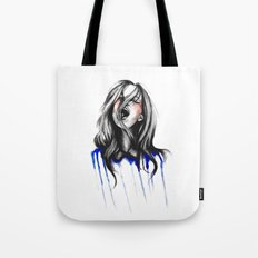In Our Wildest Moments // Fashion Illustration Tote Bag
