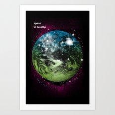 Space To Breathe Art Print