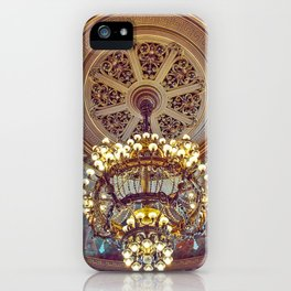 Victorian Painted Ceiling iPhone Case
