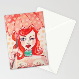 The Strawberry Stationery Cards