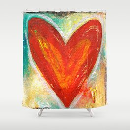 Deep in Love Shower Curtain