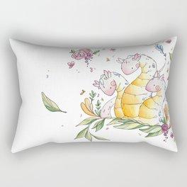 Hydra de Flora Rectangular Pillow