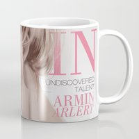 snk Mugs featuring SnK Magazine: Armin by putemphasis