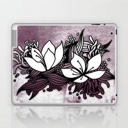 Flower Tangle Laptop & iPad Skin