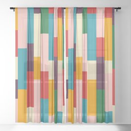 Classic Retro Empusa Sheer Curtain