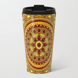 Hippie mandala 78 Travel Mug