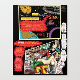 Page #5 of Tex Watt's (UNCENSORED) SUNDAY COMIX POP-ART Canvas Print