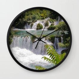Krka National Park, Croatia Wall Clock