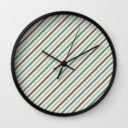 Geometric Abstract Pattern Wall Clock