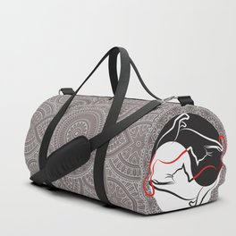 Cats - Mandala and Jin Jang Duffle Bag