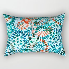 The Jungle Under the Sea Rectangular Pillow