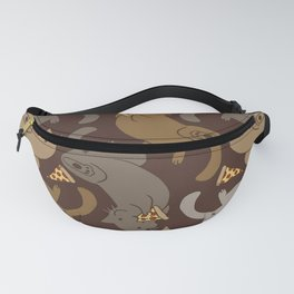 Pizza Cats Fanny Pack